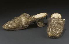 Anne Boleyn's Shoes? (Probably not: more realistic date 1630s)