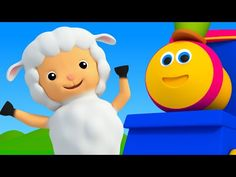 Bob The Train | Mary Had A Little Lamb | Nursery Rhymes For Kids | 3D Baby Songs - YouTube