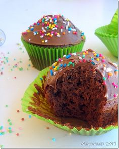 Brownies, Chocolate Cupcakes, Food Inspiration, Muffins, Food And Drink, Sweets, Cooking, Breakfast, Easy
