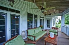 Lovely Covered Open back Porch/Deck to enjoy in this Vienna Virginia home managed by McGrath Real Estate