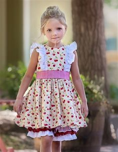 Persnickety Clothing - Bushel And a Peck Hopscotch Dress Spring 2017 D2  $88