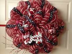Arkansas Razorback Wreath By: Heidi Reddell