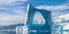 Greenland, Arch iceberg