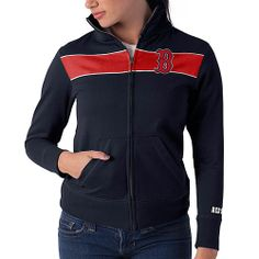 Boston Red Sox Women's Debut Track Jacket by '47 Brand - MLB.com Shop