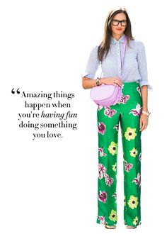 Amazing things happen when you're having fund doing what you love! Jenna Lyons #Quotes Jenna Lyons, Word Up, Fashion Quotes, Motivation Inspiration, Style Inspiration, Great Quotes, Inspirational Quotes, Quotable Quotes, Jolie Phrase