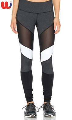 Women - Activewear · Custom Leggings - Panel Work - Spandex Jersey Casual Athletic  Outfits, Gym Outfits, Fitness 0828e83fca7