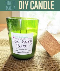 Make Your Own Candles DIY Projects Craft Ideas & How To's for Home Decor with Videos Have you tried candle making techniques and failed miserably? Don't miss our awesome DIY candle making basics craft project! Homemade Candles, Diy Candles, Scented Candles, Candle Making Business, Candle Making Supplies, Candle Craft, Candlemaking, Candle Containers, Aromatherapy Candles