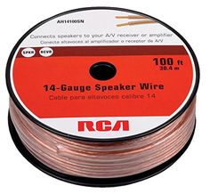 InstallGear 14 Gauge AWG 100ft Speaker Wire True Spec and Soft Touch ...