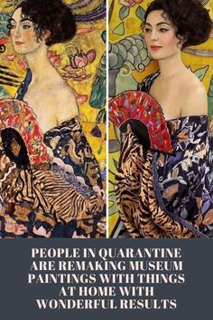 People in quarantine are remaking museum paintings with things at home with wonderful results Bizarre Pictures, Funny Pictures, Weird Facts, Fun Facts, Lace Dream Catchers, Makeup Eye Looks, Funny Animal Videos, Mind Blown, Memes