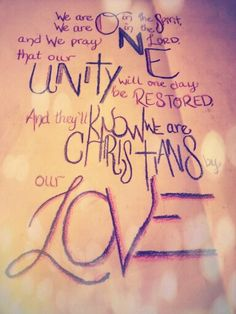 Jars of Clay - They will know we are Christians by our LOVE (John 13:35)