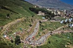 Toughest Cycling Climbs/Steepest mountain pass road: Alpe d'Huez, France (1,860m at highest point)Arguably the most iconic climb in the Tour de France, Alpe d'Huez has seen many epic battles over the years. The climb is  13.8km long, with an average graident of 8.1%