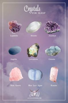 There are many beautiful crystals for dreaming and sleep. Some crystals will enhance your dreams and sleep, while others will leave you feeling drained when you wake up.