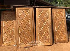 Wooden Front Door Design, Wooden Front Doors, House Rooms, Entry Doors, Woodworking, Home Decor, Rustic Doors, Wooden Gates, Decoration Home