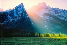 Teton sunset -- need to go back!