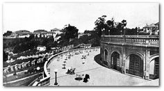 The Trianon Belvedere that gave room to MASP (São Paulo Art Museum) in São Paulo, Brazil