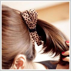 Leopard-Print Hair Pin Leopard Print - One Size