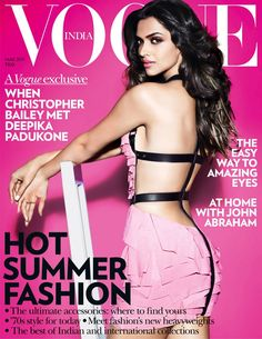 Vogue India March 2011 - Deepika Padukone
