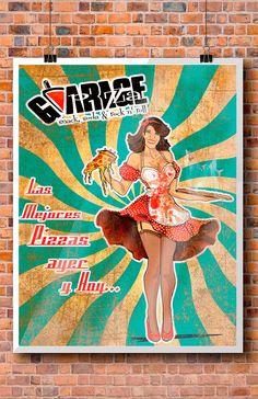 Parte del staff de las mejores Pizzas Garage pizza!!