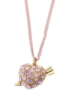 Bijou Brigitte Valentine's Day necklace #valentinesday