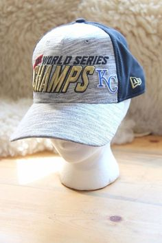 World Series Champs KC Fitted One Size Hat 7196cada0470