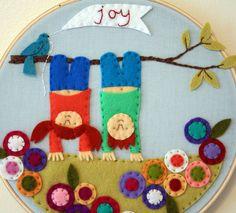 Kids Felt Craft - fun design