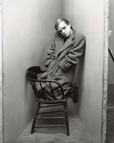 Truman Capote photo by Richard Avedon, 1948