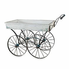 Buy Uttermost Generosa Weathered Flower Cart from Bed Bath & Beyond