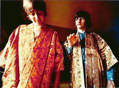 John Lennon and Richard Starkey