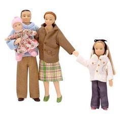 Melissa and Doug Doll Family of 4 Set - 2587