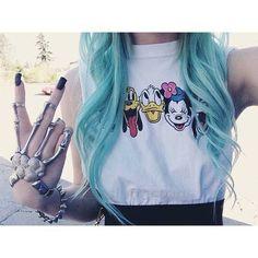 grunge // punk // pretty // pale // pastel // soft // rad // cool // alien // fashion // style // girl // tumblr