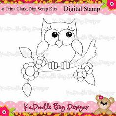 Digital Stamps, Digi Stamps, JPEG, PNG, Trina Clark