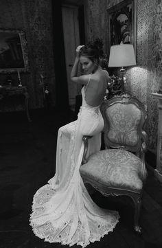 Designer Inbal Dror http://allforfashiondesign.com/sexy-sultry-sensational-inbal-dror-wedding-dresses/