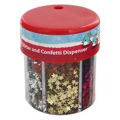 Christmas Glitter And Confetti Dispenser