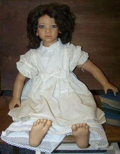 """Annette Himstedt doll """"Minou""""-$225.00"""