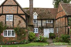 Old Beams Cottage, Turville, Buckinghamshire (used as the Vicarage in The Vicar of Dibley)   Flickr - Photo Sharing!