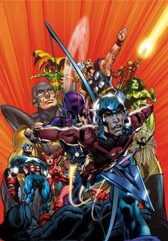 Avengers Finale Cover: Ant-Man Marvel Comics Poster - 30 x 46 cm Comic Book Superheroes, Avengers Comics, New Avengers, Marvel Comic Books, Comic Books Art, Dc Comics, Marvel E Dc, Marvel Heroes, Captain Marvel