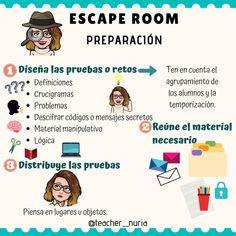 Escape Room, I School, Middle School, Education World, Class 8, Teacher Planner, Flipped Classroom, Blog Topics, Spanish Lessons