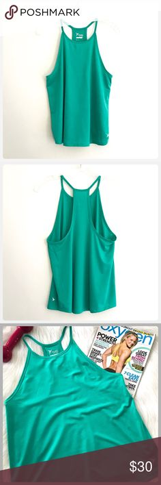 Sale! Old Navy! NWOT Workout Teal Green Racer Tank JUST IN! This is brand new! I took the tags of before I tried it on! It is so an so comfortable! The color is so nice for summer! Bust 18 Length 25 The pants are also available in my closet! Old Na Tops Tank Tops