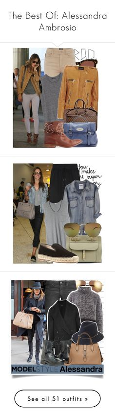 """The Best Of: Alessandra Ambrosio"" by dannyg ❤ liked on Polyvore featuring Black Orchid, Thierry Lasry, Armani Jeans, MANGO, Isabel Marant, Louis Vuitton, women's clothing, women's fashion, women and female"