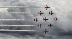 Red Arrows by Teresa Mazur on 500px