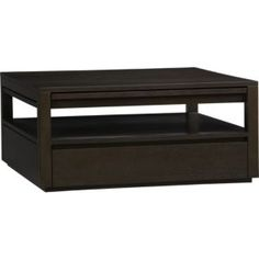 Tourney Rectangular Coffee Table in Coffee Tables & Side Tables   Crate and Barrel