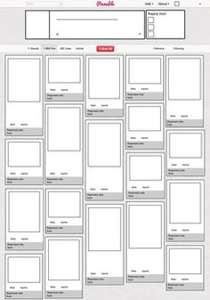 """Print off this blank """"Pinterest"""" board and have your students fill it in with images and quotes from book characters, famous authors, historical figures, scientists and more!"""