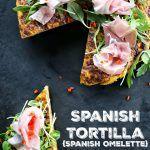 Spanish Tortilla {Spanish Omelette}