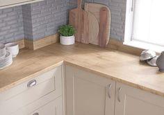 Natural Arlington Oak #kitchen worktop for light & airy decors