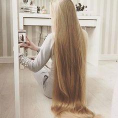 Long Blond, Long Dark Hair, Long Natural Hair, Natural Hair Styles, Long Hair Styles, Beautiful Long Hair, Gorgeous Hair, Pretty Hairstyles, Straight Hairstyles