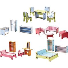 Little Friends - Puppenhaus-Möbel Villa Sonnenschein HABA 300511 - Traumhafte Möbel fürs Puppenhaus ♥ sorgfältig ausgewählt ♥ Jetzt online bestellen!
