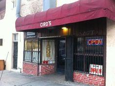 Ciro's Restaurant - 705 N Evergreen Ave, Los Angeles