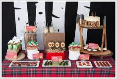 l love this Lumberjack Birthday Party so much I could squeeze it!
