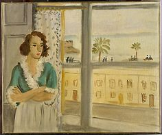 Henri Matisse-Girl by a Window