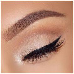 Eye Makeup Steps, Makeup Eye Looks, Makeup For Green Eyes, Smokey Eye Makeup, Cute Makeup, Eyeshadow Makeup, Eyeshadow Palette, Neutral Eyeshadow, Smoky Eye